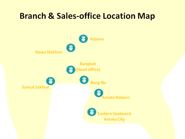Branch & Sales-office Location Map